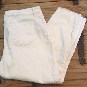 Women's Talbots Five Pocket Ankle Jeans 16 Petite